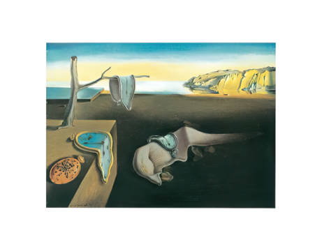 The Persistence of Memory, 1931 of artist Salvador Dalí as framed image