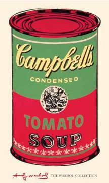 klassischer Kunstdruck: Andy Warhol, Campbell's Soup Can, 1965 (green & red)