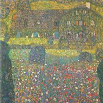 Gustav Klimt - House in Attersee