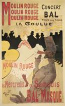 Henri de Toulouse-Lautrec - Moulin Rouge/La Goulue