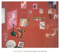 Henri Matisse - The Red Studio