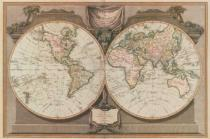 Vintage Reproduction - New Map of the World