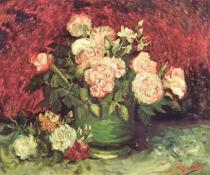 Vincent van Gogh - Roses and Peonies, 1886