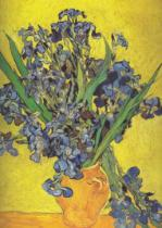 Vincent van Gogh - Irises in Vase