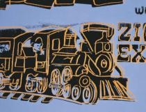 Andy Warhol - Train, 1983