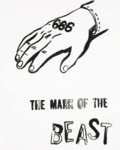 Andy Warhol - The Mark of the Beast, c.1985-86