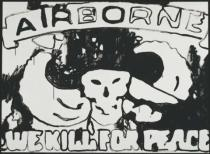 "Andy Warhol - Airborne ""We Kill for Peace"", c. 1985-86"
