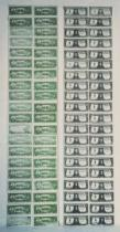 Andy Warhol - Front and Back of Dollar Bills, 1962