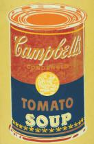 Andy Warhol - Colored Campbell's Soup Can, 1965 (yellow & blue)