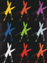 Andy Warhol - Knives, 1981-82 (multi)