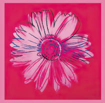 Andy Warhol - Daisy, c. 1982 (crimson and pink)