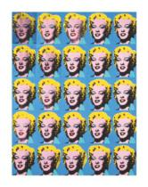Andy Warhol - Twenty-Five Colored Marilyns, 1962