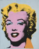 Andy Warhol - Marilyn, 1964 (on light gray-blue)