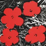 Andy Warhol - Flowers (Red), 1964