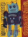 Andy Warhol - Moon Explorer Robot, 1983 (blue & yellow)
