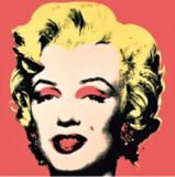 Andy Warhol - Marilyn, 1967 (on red ground)