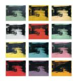 Andy Warhol - Twelve Electric Chairs, 1964/65