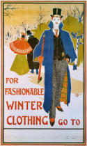 Louis John Rhead - For fashionable Winter Clothing