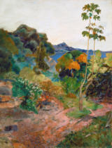 Paul Gauguin - Küstenlandschaft auf Martinique - Tropische Vegetation