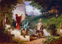 Carl Spitzweg - Childhood Friends