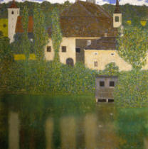 Gustav Klimt - Castle Unterach on the Attersee