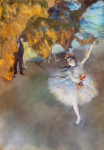Edgar Degas - The Star, or Dancer on the stage, c.1876-77