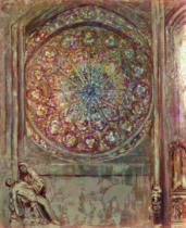 Odilon Redon - The Cathedral