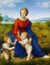 Raphael - Madonna out in the open