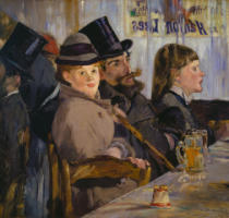 Edouard Manet - In the Cafe / 1878