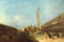 Francesco Guardi - Der Markusplatz