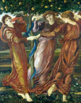 Sir Edward Coley Burne-Jones - Der Garten der Hesperiden