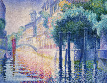 Henri-Edmond Cross - Kanal in Venedig