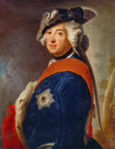 Antoine Pesne - Frederick II (the Great), King of Prussia
