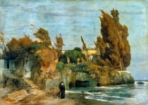 Arnold Böcklin - Villa by the Sea, 2nd edition