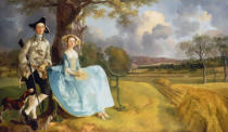 Thomas Gainsborough - Das Ehepaar Andrews