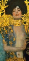Gustav Klimt - Judith with the Head of Holofernes