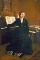 Edgar Degas - Madame Camus am Piano