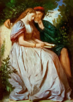Anselm Feuerbach - Paolo and Francesca