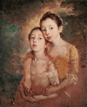 Thomas Gainsborough - Margareth und Mary Gainsborough