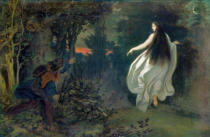 Moritz Ludwig von Schwind - Apparition in the Woods