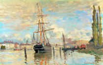 Claude Monet - Die Seine in Rouen