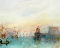 Joseph Mallord William Turner - Venedig mit erster Mondsichel