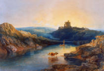 Joseph Mallord William Turner - Morgenstimmung am Norham Castle