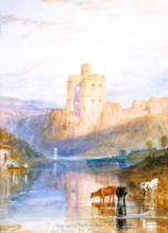 Joseph Mallord William Turner - Norham Castle. Illustration zu Walter Scott's Marmion