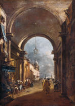 Francesco Guardi - Tordurchblick