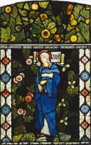 Sir Edward Coley Burne-Jones - Die heilige Jungfrau Maria