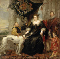 Peter Paul Rubens - Porträt der Alatheia Talbot, Countess of Arundel