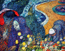 Vincent van Gogh - Ladies of Arles , 1888