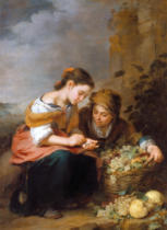 Bartholomé Estéban Murillo - The Little Fruit Seller