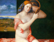 Giovanni Bellini - Young woman at her toilet
